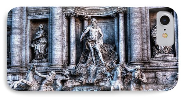 IPhone Case featuring the photograph Trevi Fountain by Joe  Ng