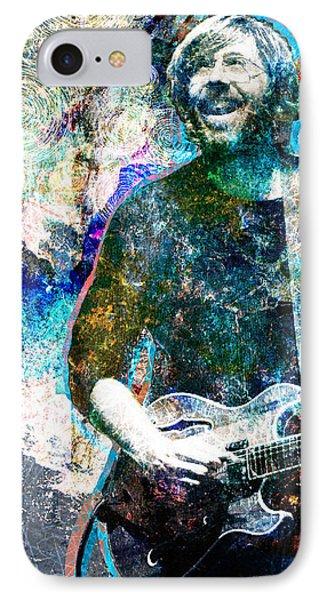 Trey Anastasio - Phish Original Painting Print IPhone Case by Ryan Rock Artist