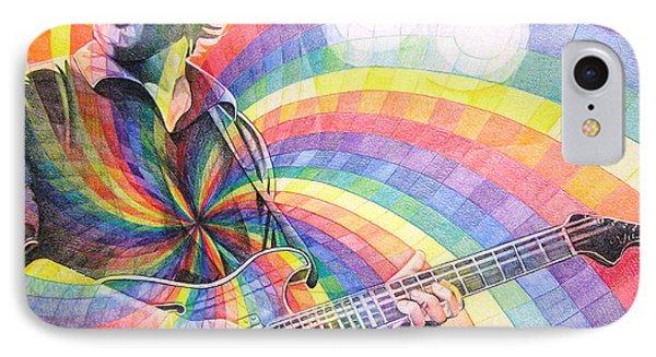 Trey Anastasio Rainbow Phone Case by Joshua Morton