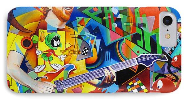 Trey Kandinsky  Phone Case by Joshua Morton