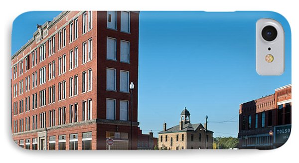 IPhone Case featuring the photograph Triangle Building by Lawrence Burry