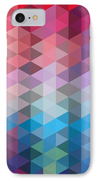 Triangles IPhone Case by Mark Ashkenazi