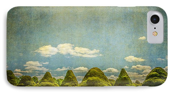 Triangular Trees 003 IPhone Case by Lenny Carter