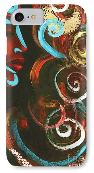Tribal Celebration IPhone Case by Alga Washington