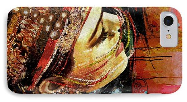 Tribal Dancer 3 IPhone Case by Mahnoor Shah