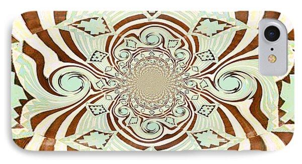 Tribal Stripe Field Of Dreams Phone Case by Mj Petrucci