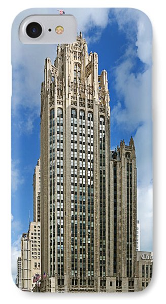 Tribune Tower - Beautiful Chicago Architecture IPhone Case by Christine Till