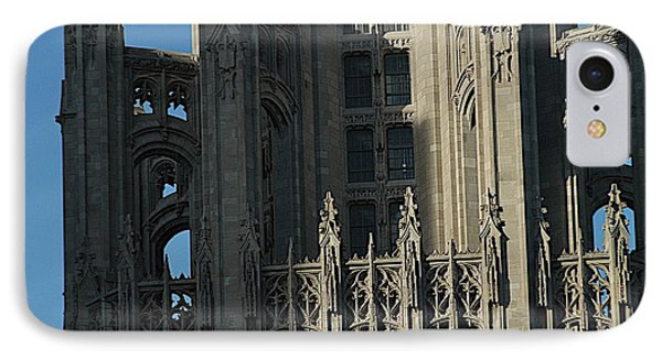 Tribune Tower Phone Case by Joseph Yarbrough