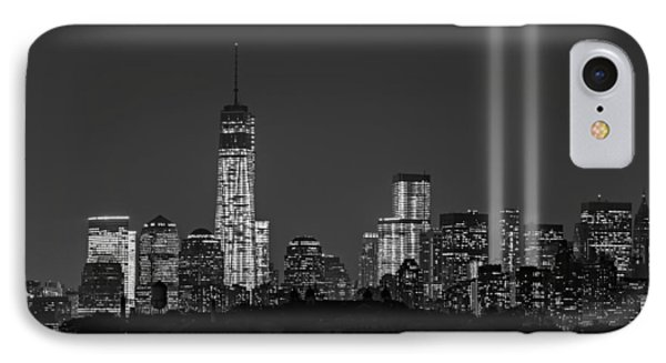 Tribute In Light 2013 Bw IPhone Case