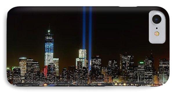 Tribute In Light From Bayonne Phone Case by Nick Zelinsky