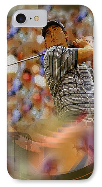 Tribute To Angel Cabrera IPhone Case