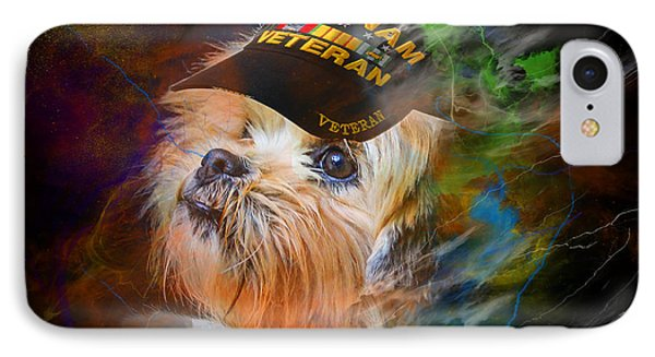 Tribute To Canine Veterans IPhone Case