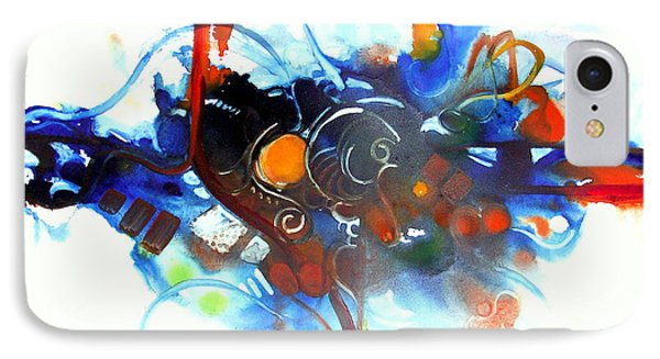 Tribute To Chihuly IPhone Case by Patricia Mayhew Hamm