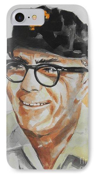 Tribute To Edward Logan My Grandfather  IPhone Case by Chrisann Ellis