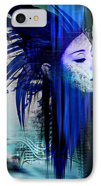 Tribute To H.r.giger IPhone Case by Marina Vergult