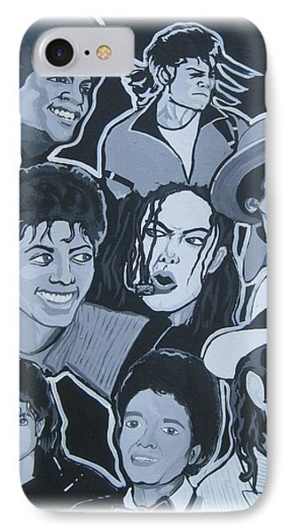 Tribute To Michael Jackson Phone Case by Gary Niles