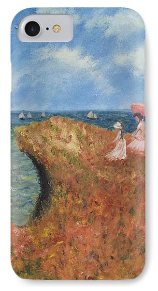 IPhone Case featuring the painting Tribute To Monet by Kristen R Kennedy