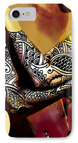 Trice Phone Case by Cindy Edwards