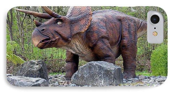 Triceratops Model I IPhone Case