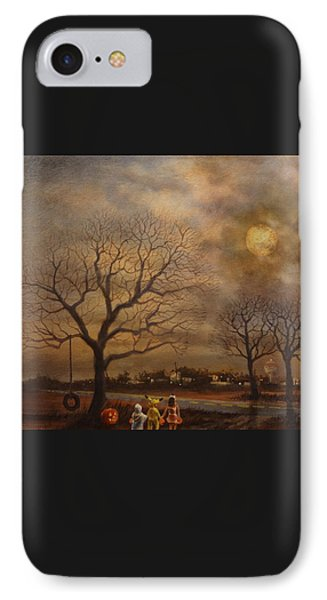 Trick-or-treat IPhone 7 Case by Tom Shropshire
