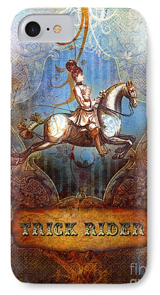 Trick Rider IPhone Case