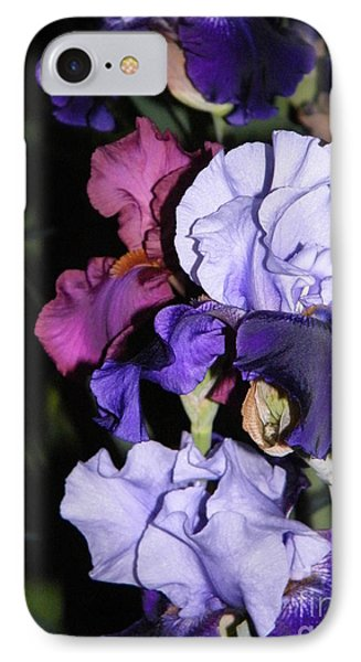 Tricolor Night Blossoms IPhone Case