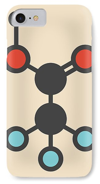 Trifluoroacetic Acid Molecule IPhone Case by Molekuul