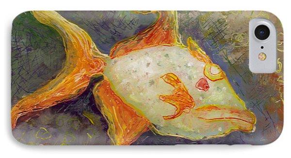 Triggerfish Phone Case by Anna Skaradzinska