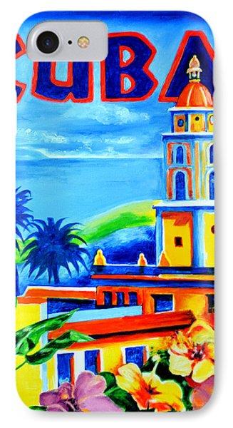 Trinidad Cuba Phone Case by Victor Minca