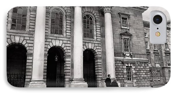 IPhone Case featuring the photograph Trinity College Examination Hall by Menega Sabidussi