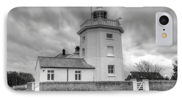 Trinity House Lighthouse Bw Phone Case by David French