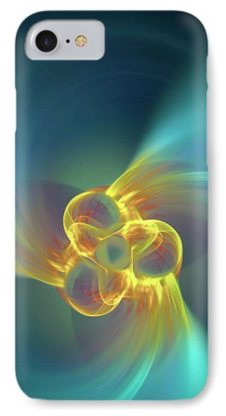 Triple Alpha Nuclear Fusion IPhone Case by David Parker