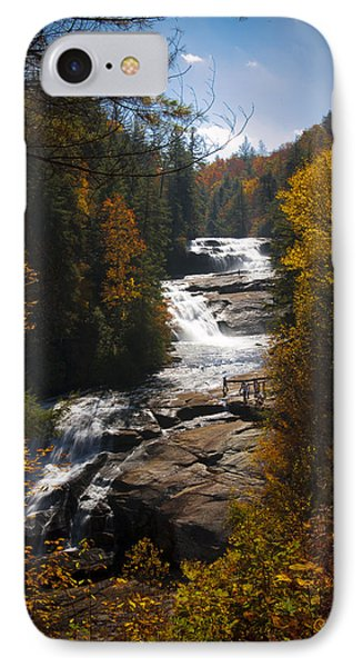 Triple Falls IPhone Case by Penny Lisowski