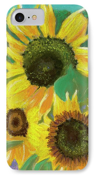 Triple Gold IPhone Case by Arlene Crafton