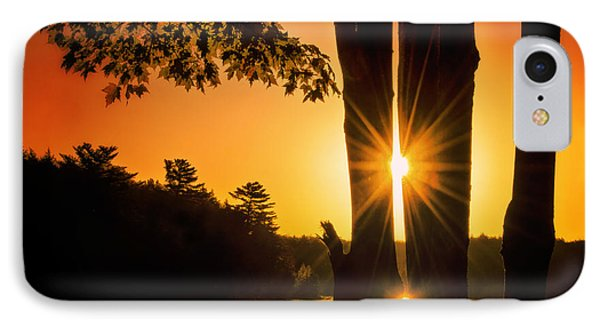 Triple Sunburst Morning IPhone Case