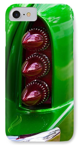 Triple Vertical Tail Lights IPhone Case by Mick Flynn