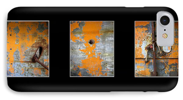 Triptych Old Metal Series Phone Case by Ann Powell