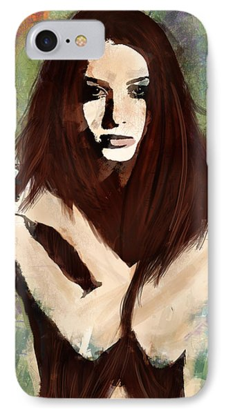 Tristesse IPhone Case by Galen Valle