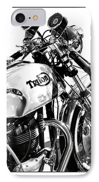 Triton Motorcycle Phone Case by Tim Gainey