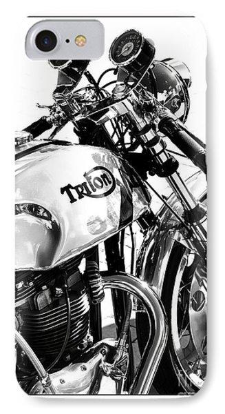 Triton Motorcycle IPhone Case