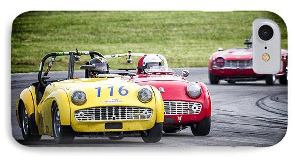 Triumph Racing IPhone Case by Alan Raasch