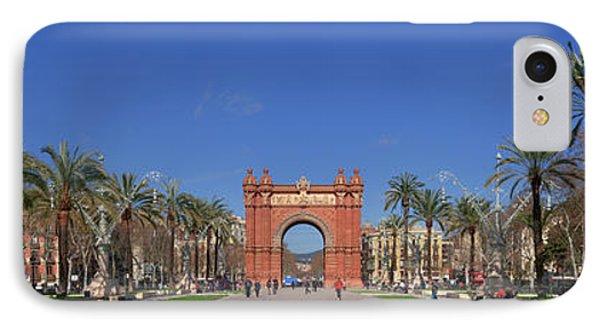 Triumphal Arch Built By Josep Vilaseca IPhone Case