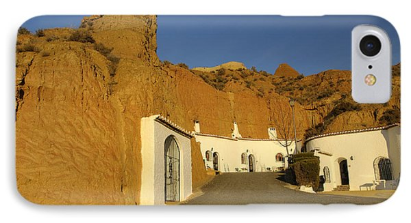 Troglodyte Caves Phone Case by Guido Montanes Castillo