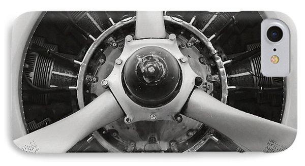 Trojan Round Piston Engine.  IPhone Case by Parawat Isarangura Na Ayudhaya