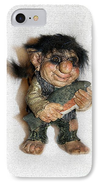 Troll Fisherman IPhone Case by Sergey Lukashin