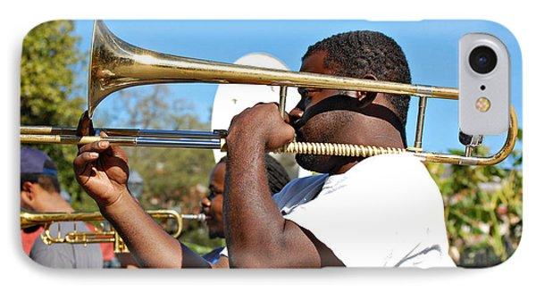 Trombone Man Phone Case by Steve Harrington