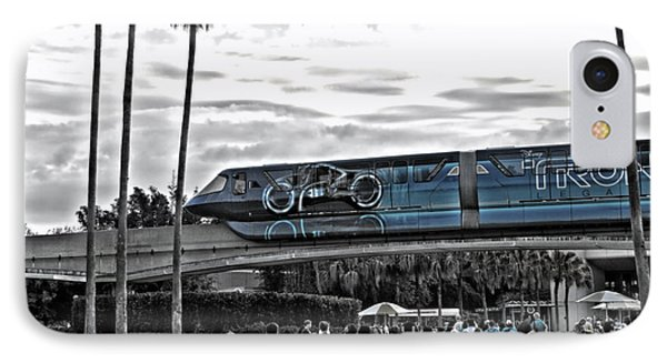 Tron Monorail Wdw In Sc Phone Case by Thomas Woolworth