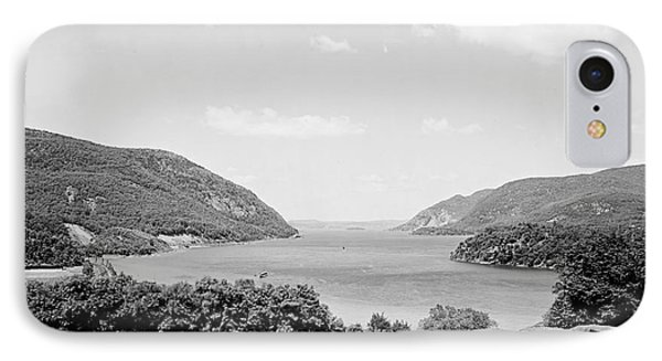 Trophy Point North Fro West Point In Black And White IPhone Case