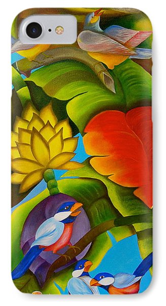 Tropic IPhone Case by Fanny Diaz