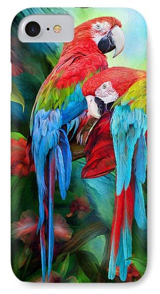 Tropic Spirits - Macaws IPhone 7 Case